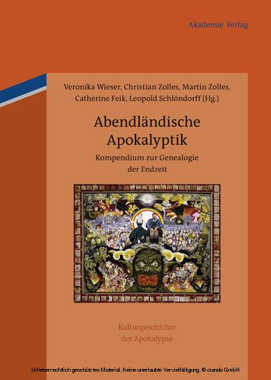 Abendländische Apokalyptik - Blick ins Buch