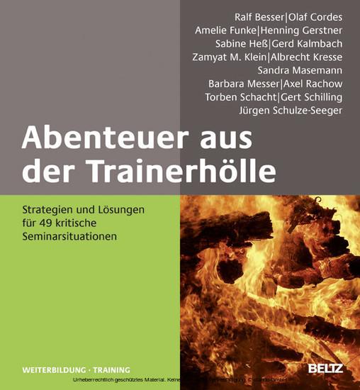 Abenteuer aus der Trainerhölle - Blick ins Buch