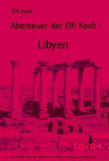 Abenteuer der Elfi Koch - Blick ins Buch