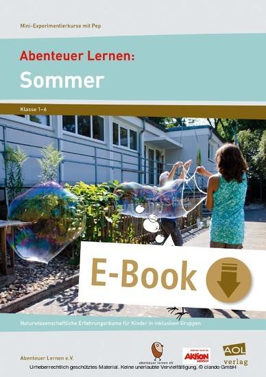 Abenteuer Lernen: Sommer - Blick ins Buch