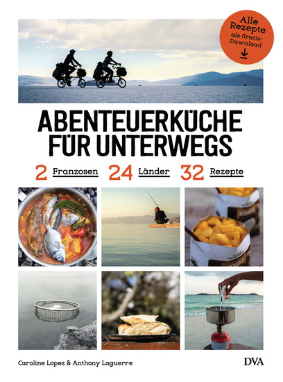 Abenteuerküche für unterwegs - Blick ins Buch