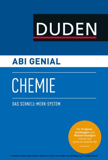 Abi genial Chemie - Blick ins Buch