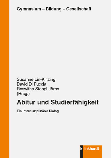 Abitur und Studierfähigkeit - Blick ins Buch