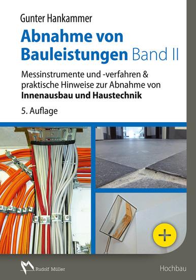Abnahme von Bauleistungen Band II - E-Book (PDF) - Blick ins Buch