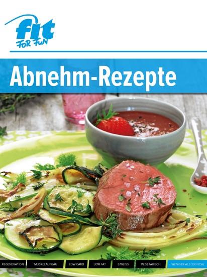 Abnehm-Rezepte - Blick ins Buch