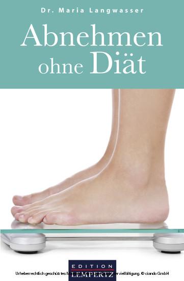 Abnehmen ohne Diät - Blick ins Buch