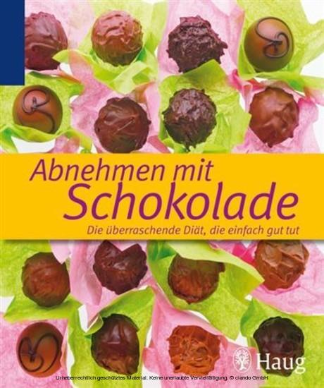 Abnehmen mit Schokolade - Blick ins Buch