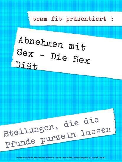 Abnehmen mit Sex - Die Sex Diät - Blick ins Buch