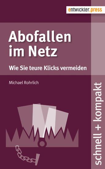 Abofallen im Netz - Blick ins Buch