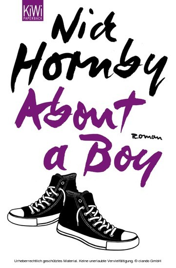 About a Boy - Blick ins Buch