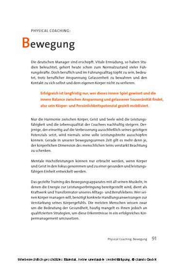 about coaching - Blick ins Buch