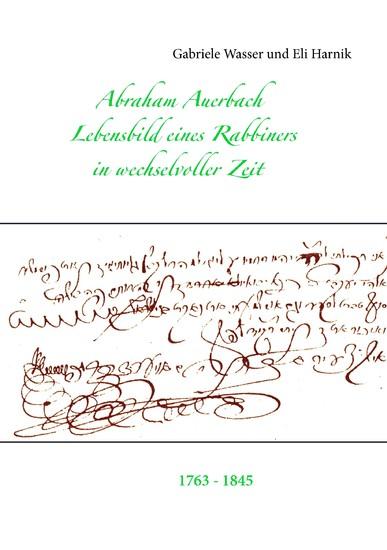 Abraham Auerbach - Blick ins Buch