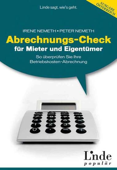 Abrechnungs-Check für Mieter und Eigentümer - Blick ins Buch