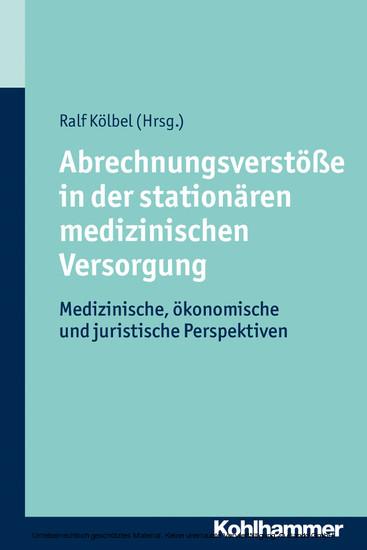 Abrechnungsverstöße in der stationären medizinischen Versorgung - Blick ins Buch