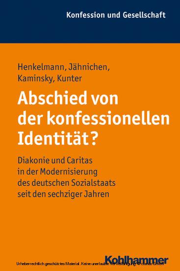 Abschied von der konfessionellen Identität? - Blick ins Buch