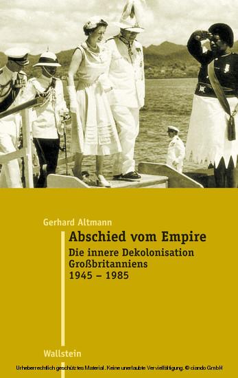 Abschied vom Empire - Blick ins Buch
