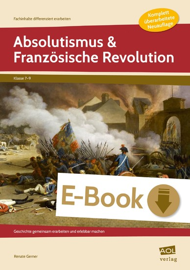 Absolutismus & Französische Revolution - Blick ins Buch