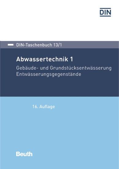 Abwassertechnik 1 - Blick ins Buch
