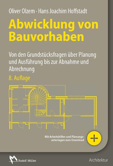 Abwicklung von Bauvorhaben - E-Book (PDF) - Blick ins Buch