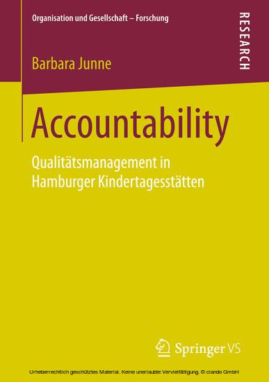 Accountability - Blick ins Buch