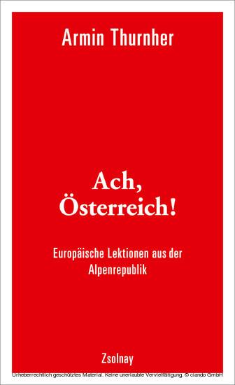 Ach, Österreich! - Blick ins Buch