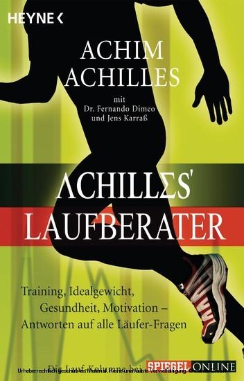 Achilles' Laufberater - Blick ins Buch
