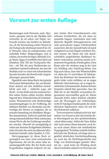 Von Achilles bis Zuckerkandl - Blick ins Buch