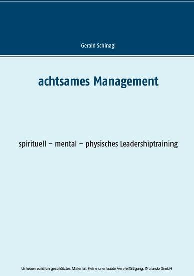 Achtsames Management - Blick ins Buch