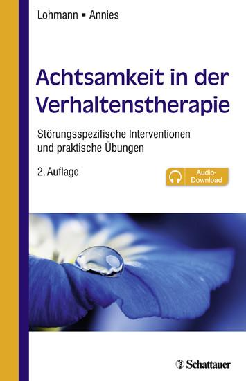 Achtsamkeit in der Verhaltenstherapie - Blick ins Buch