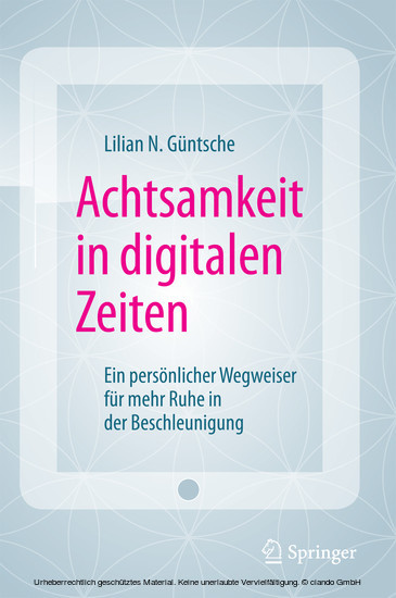 Achtsamkeit in digitalen Zeiten - Blick ins Buch