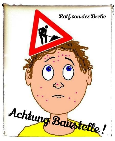 Achtung Baustelle ! - Blick ins Buch