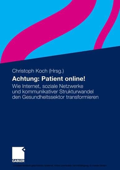 Achtung: Patient online! - Blick ins Buch