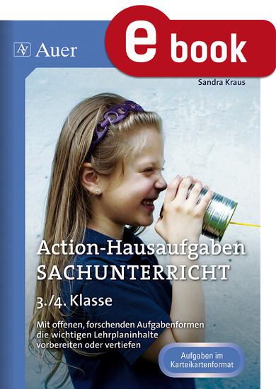 Action-Hausaufgaben Sachunterricht 3+4 - Blick ins Buch