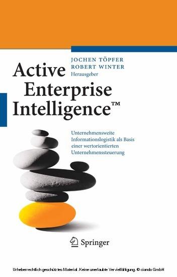 Active Enterprise Intelligence™ - Blick ins Buch