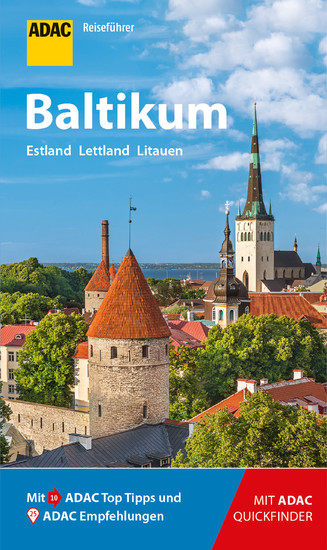 ADAC Reiseführer Baltikum - Blick ins Buch