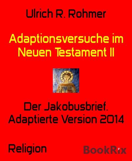 Adaptionsversuche im Neuen Testament II - Blick ins Buch