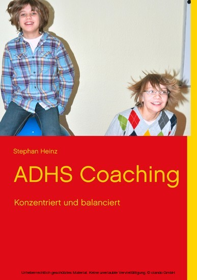 ADHS Coaching - Blick ins Buch