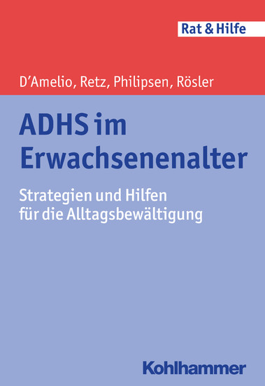 ADHS im Erwachsenenalter - Blick ins Buch