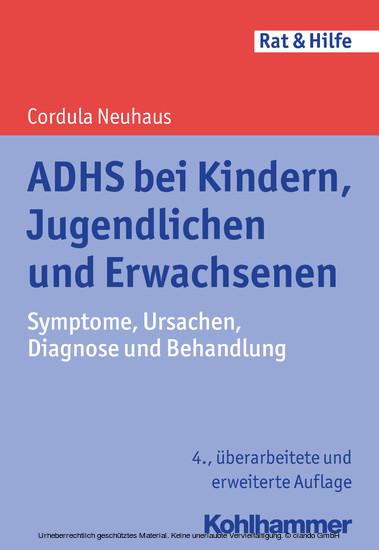 ADHS bei Kindern, Jugendlichen und Erwachsenen - Blick ins Buch