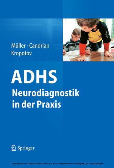 ADHS - Neurodiagnostik in der Praxis - Blick ins Buch
