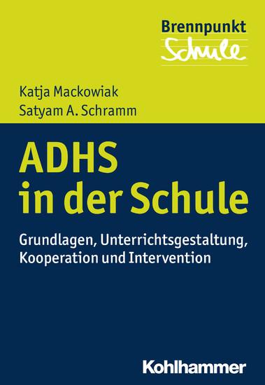 ADHS und Schule - Blick ins Buch