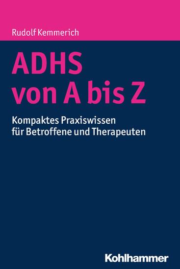 ADHS von A bis Z - Blick ins Buch