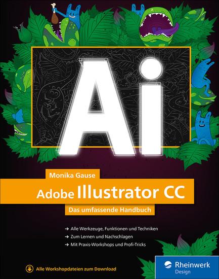 Adobe Illustrator CC - Blick ins Buch