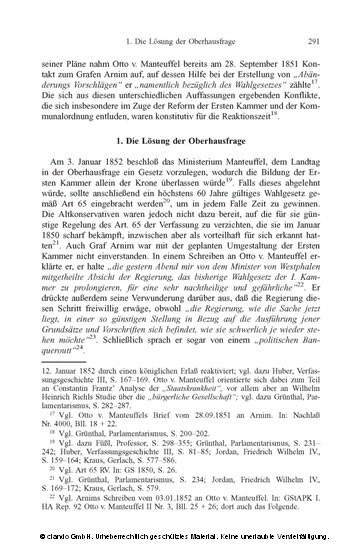 Adolf Heinrich Graf v. Arnim-Boitzenburg (1803-1868). Eine politische Biographie - Blick ins Buch
