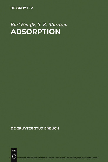 Adsorption - Blick ins Buch