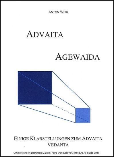 Advaita- Agewaida - Blick ins Buch