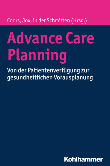 Advance Care Planning - Blick ins Buch