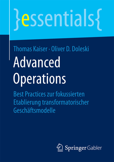 Advanced Operations - Blick ins Buch