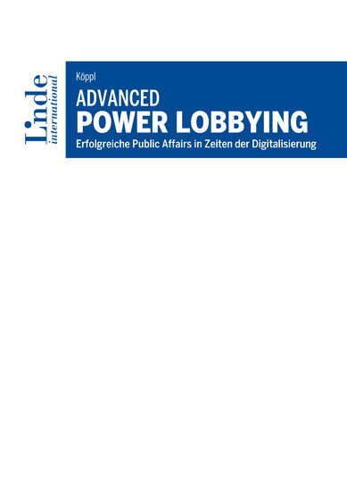 Advanced Power Lobbying - Blick ins Buch