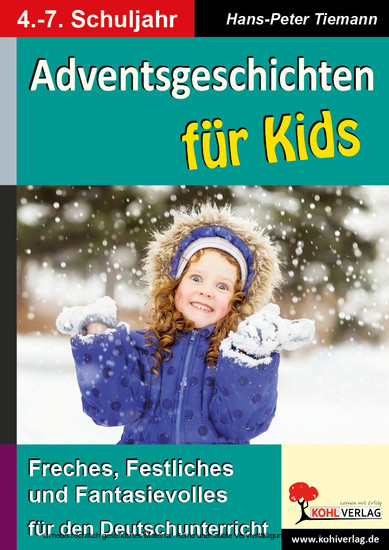 Adventsgeschichten für Kids - Blick ins Buch